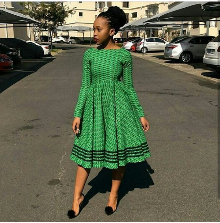 Short Kitenge Dresses Great Colors Amp Designs Fashenista