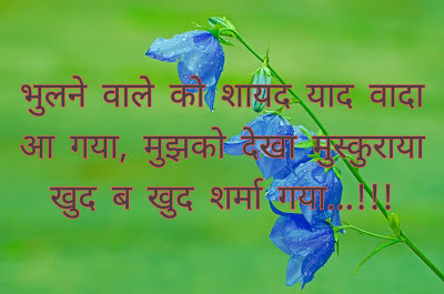 2 line love shayari in Hindi