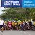 Sempat Terhenti Karena Guyuran Hujan, Tour de Bintan 2019 Berlangsung Meriah