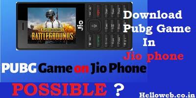 Pubg Game Apk Download For Jio Phone