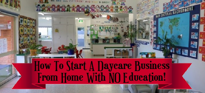 things needed to start a daycare at home