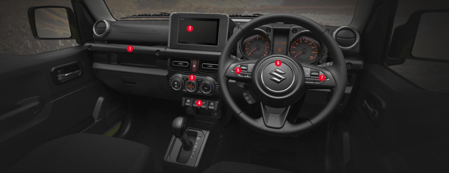 Interior-Suzuki-Jimny