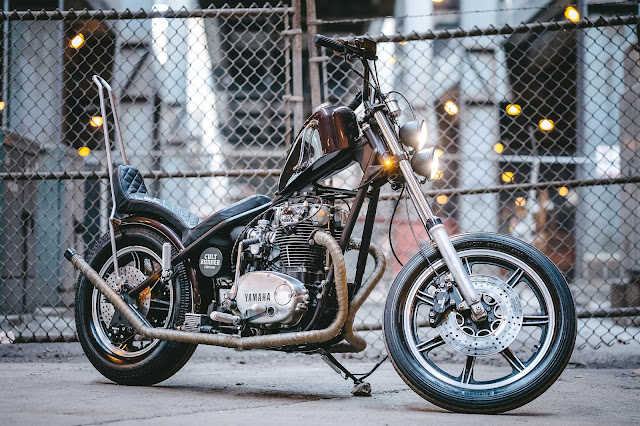 Yamaha XS650 By Federal Moto Hell Kustom