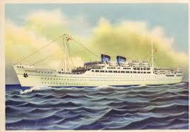 The MS Surriento was an ex-US Marines transport ship that Lauro turned into a passenger liner