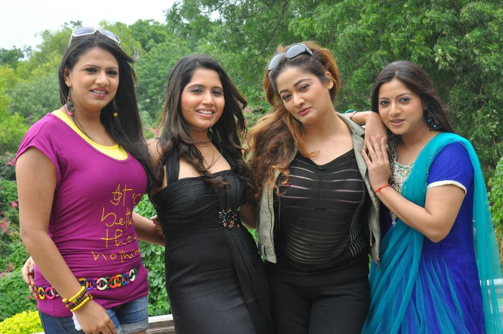 Baja Bharjantrilu Telugu Movie Press Meet Stills