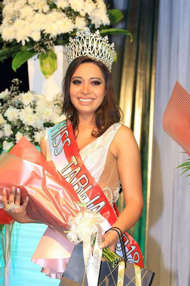 Valentina Ramallo fue elegida Miss Tarija 2018