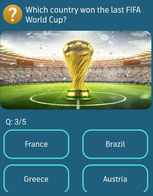 Which country won the last FiFA World Cup?