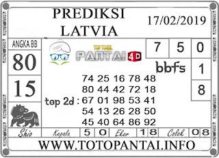 """Prediksi Togel """"LATVIA"""" PANTAI4D 17 FEBRUARI 2019"""