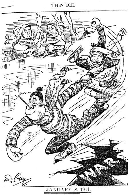 8 January 1941 worldwartwo.filminspector.com Roosevelt Congress cartoon S.J. Ray