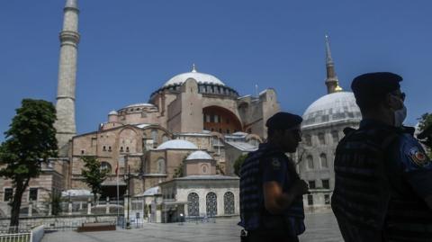 Turkish President Turns Hagia Sophia Into a Mosque
