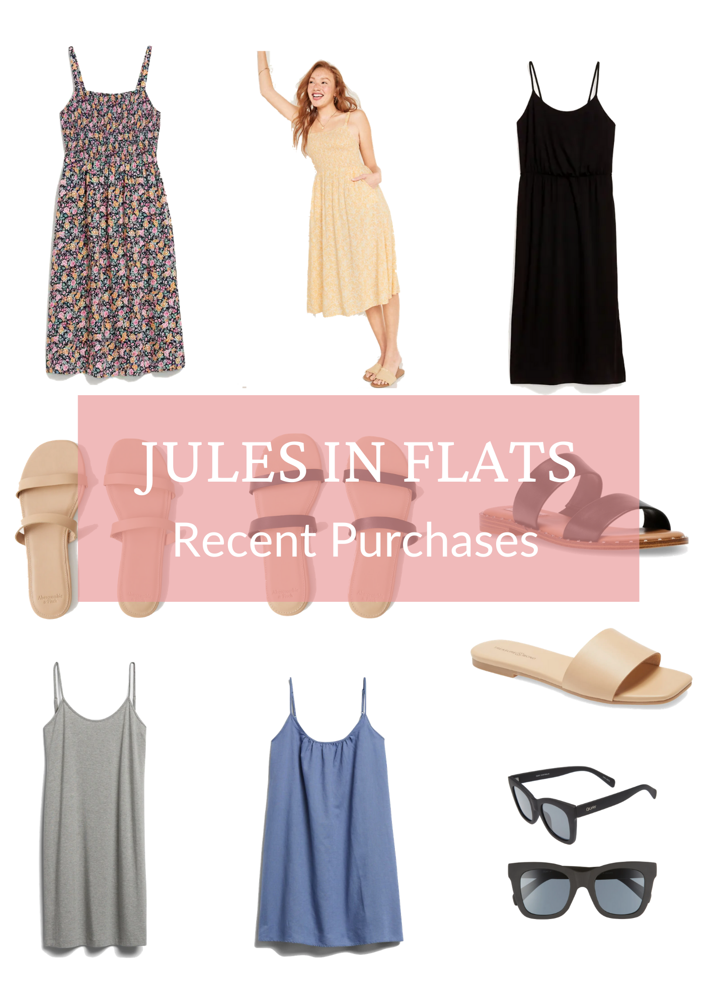 Jules in Flats - Recent Purchases June 2021