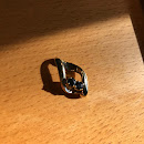 the sapphire pendant