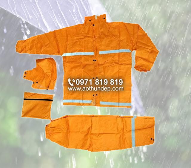 Áo mưa liền thân, áo mưa bít;