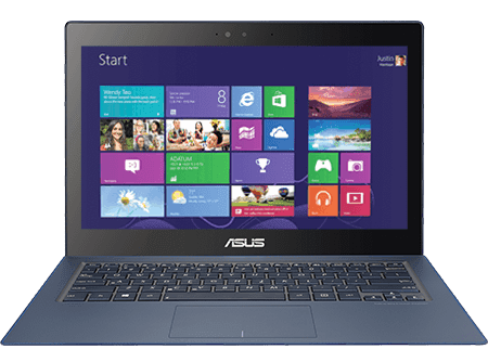 ASUS ZENBOOK UX302LG USB Charger Plus Windows 8