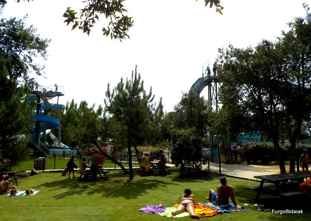 Parque Aquatic Landes zona picnic