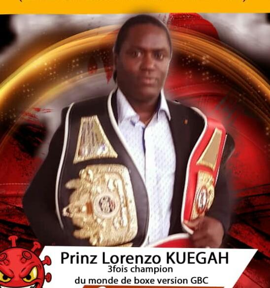 Prince Lorenzo KUEGAH  honore l'Afrique de l'Ouest grâce à sa nomination par le '' WIBF '' à New York