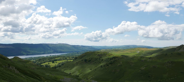 Coniston Water and fells
