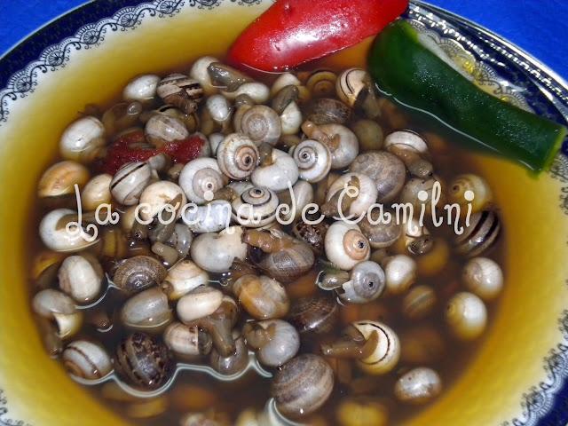 Caracoles (La cocina de Camilni)