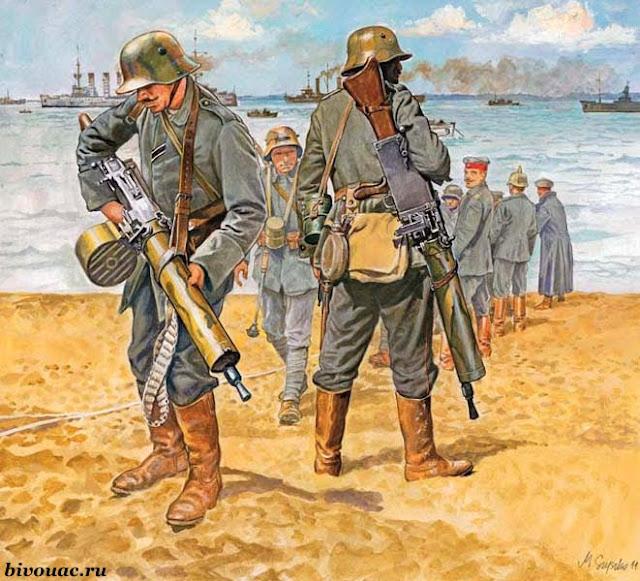 Немецкие штурмовые группы, Штурмовые группы, Штурмовые группы Первой мировой, Штурмовые части,