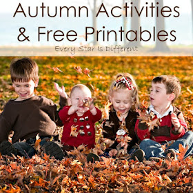 Autumn Activities and Free Printables