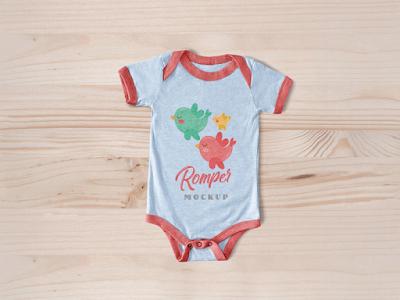 mockup baju bayi