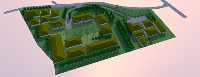 site plan sekolah smk
