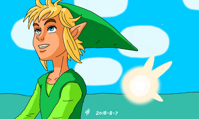 Link and Ciela