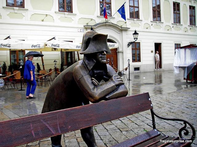 Viajar sozinha para Bratislava, Eslováquia