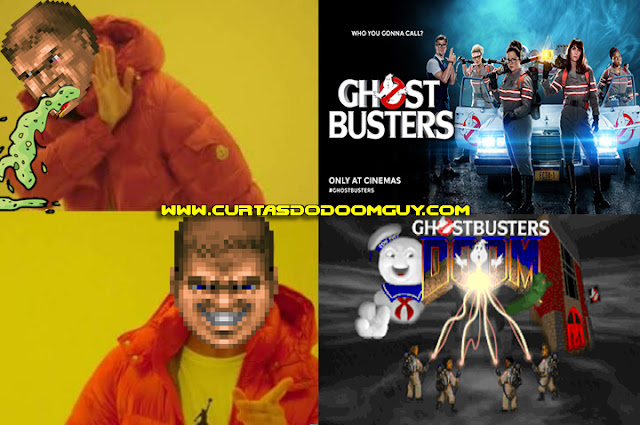 Ghostbusters 2016 x Ghostbusters DOOM 2 TC