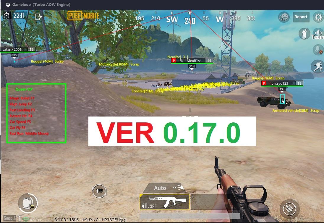 QUEEN VIP V3.3 | PUBG MOBILE 0.17