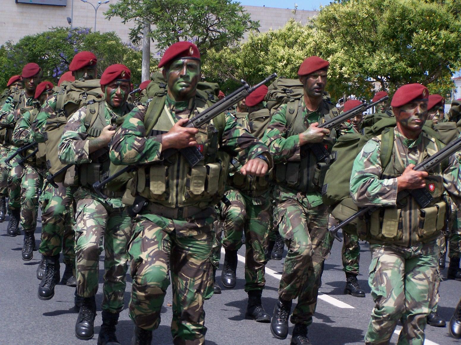 2971af63aff8c FORÇAS ESPECIAIS VI – Comandos - curiosidad. «