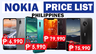 Nokia Android Phones Price List in the Philippines 2020