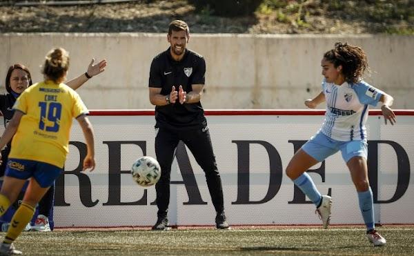 """Javi Ramos - Málaga Femenino -: """"Hay que seguir luchando"""""""