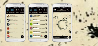 Apple 11 iOS Theme For YOWhatsApp & Fouad WhatsApp Leidiane