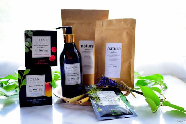 Nowe wegańskie kosmetyki BOTANIC SkinFood w drogeriach Natura