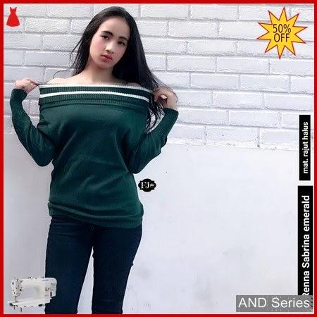 AND349 Baju Atasan Wanita Blouse Renna Sabrina BMGShop