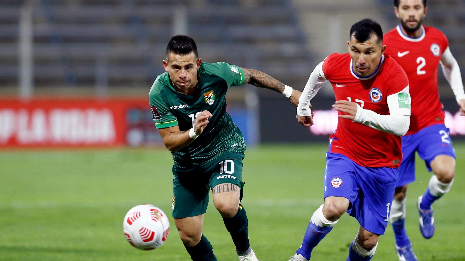 Chile y Bolivia en Clasificatorias a Catar 2022, 8 de junio de 2021