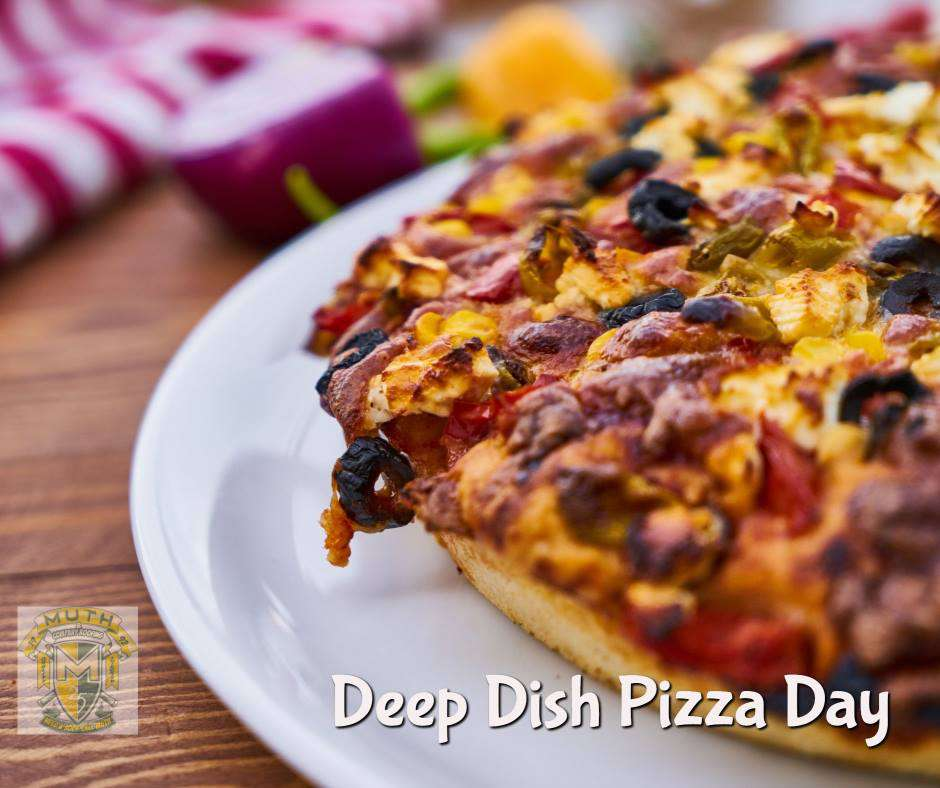 National Deep Dish Pizza Day Wishes Images download