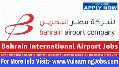 Bahrain Airport Company Jobs 2019 For Latest Jobs In Middle East