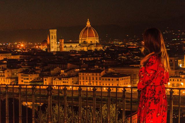 Floransa, floransa gezilecek yerler, piazza michelangelo