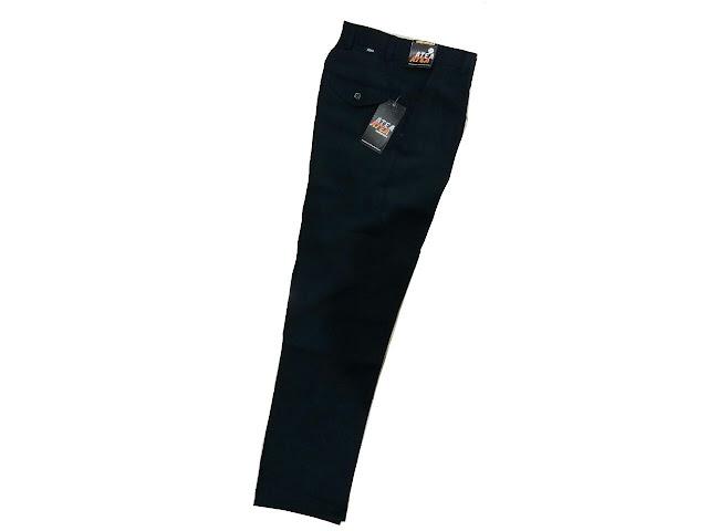 celana panjang pria untuk kerja, model celana kerja kantoran untuk pria, celana bahan pria untuk kerja