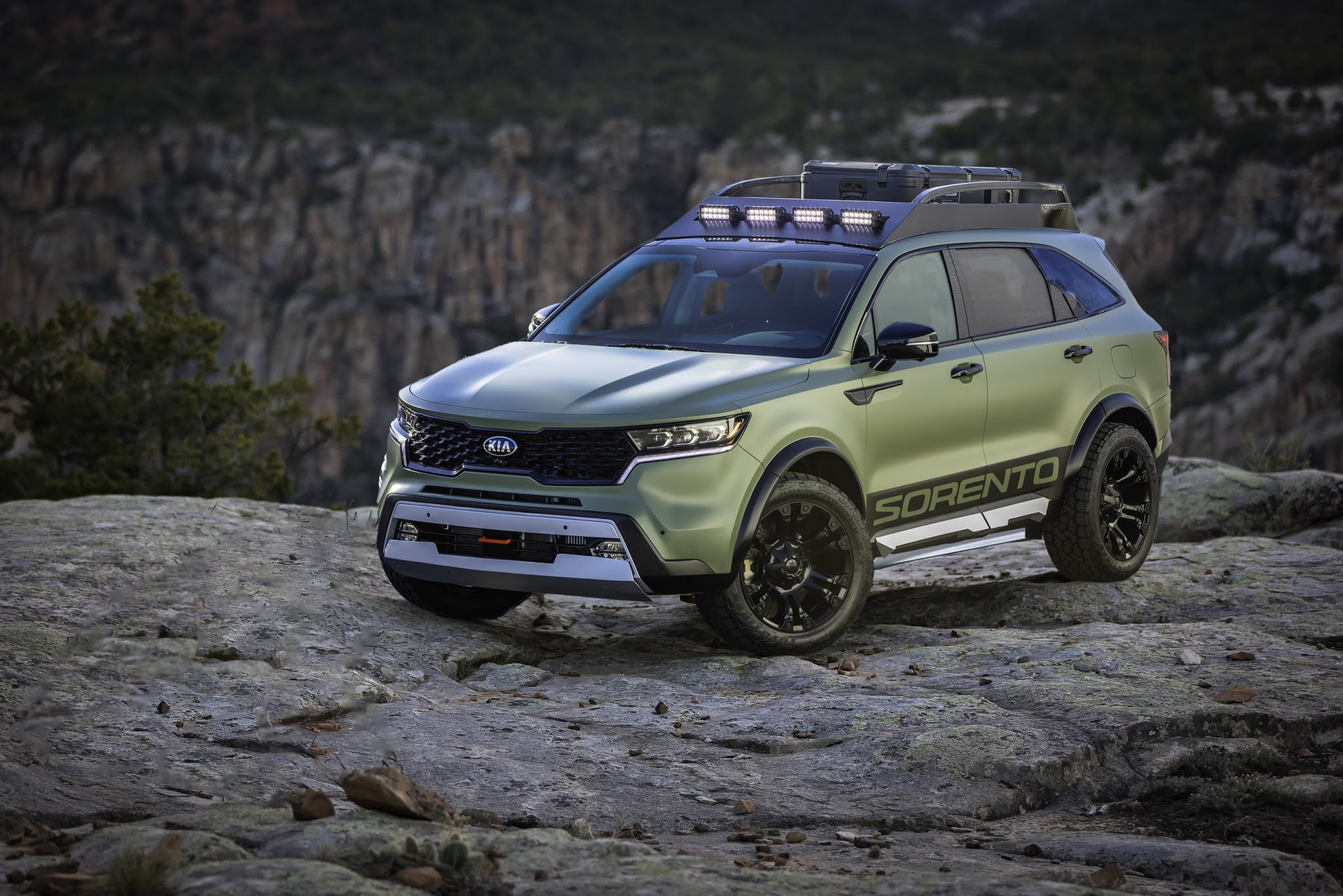 Kia Unveils Two Rugged X-Line Sorento Concepts Built For The Wild