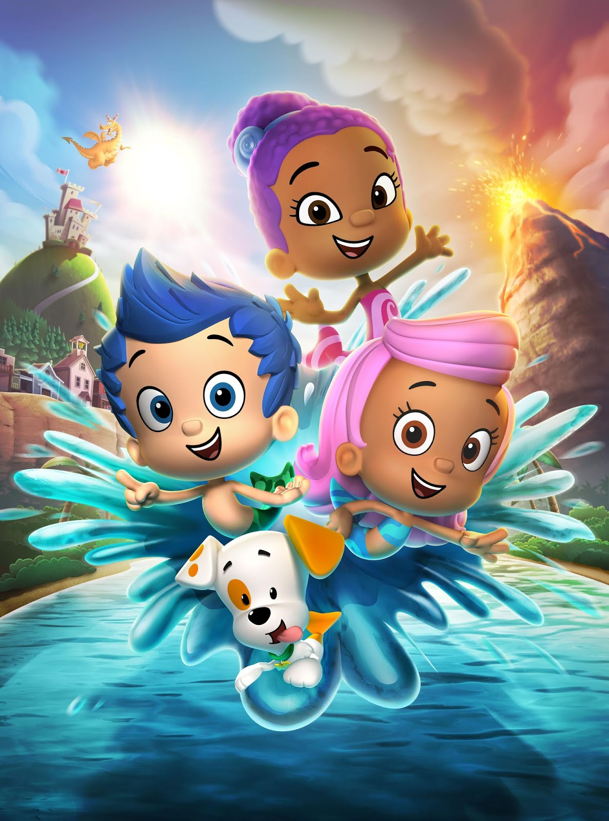 Youtube Tv Nick Jr : youtube, NickALive!:, Australia, Premiere, 'Bubble, Guppies', Season, Monday, February