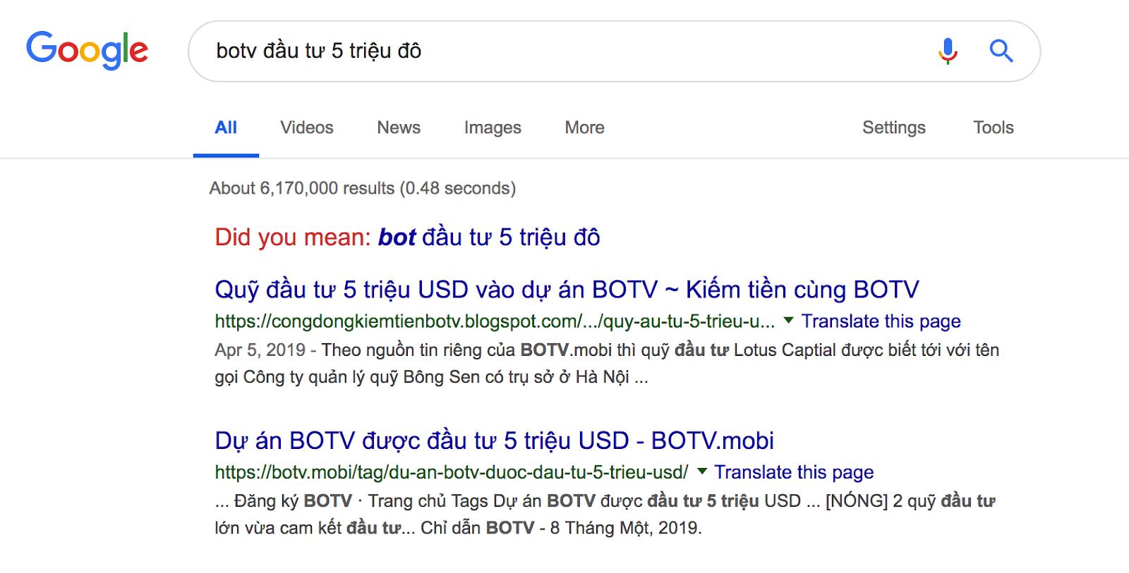 Lotus Captial đầu tư BOTV 5 triệu đô