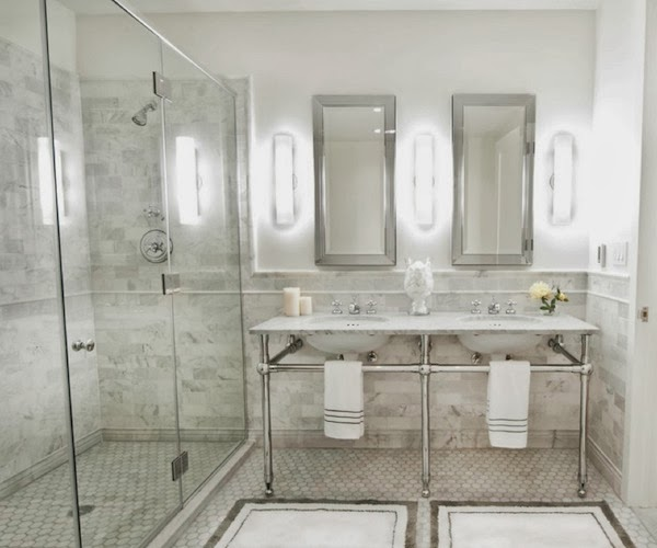 Elegant Bathroom Sinks: Beautiful Abodes: Small Bathrooms Can Have Double Sinks?
