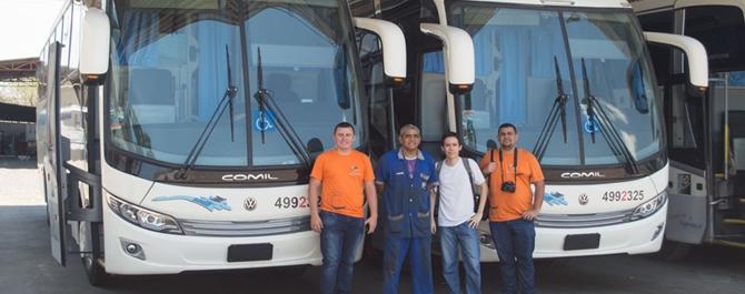 Visita na Viação Pernambucana