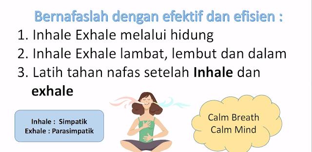 Lakukan pernafasan