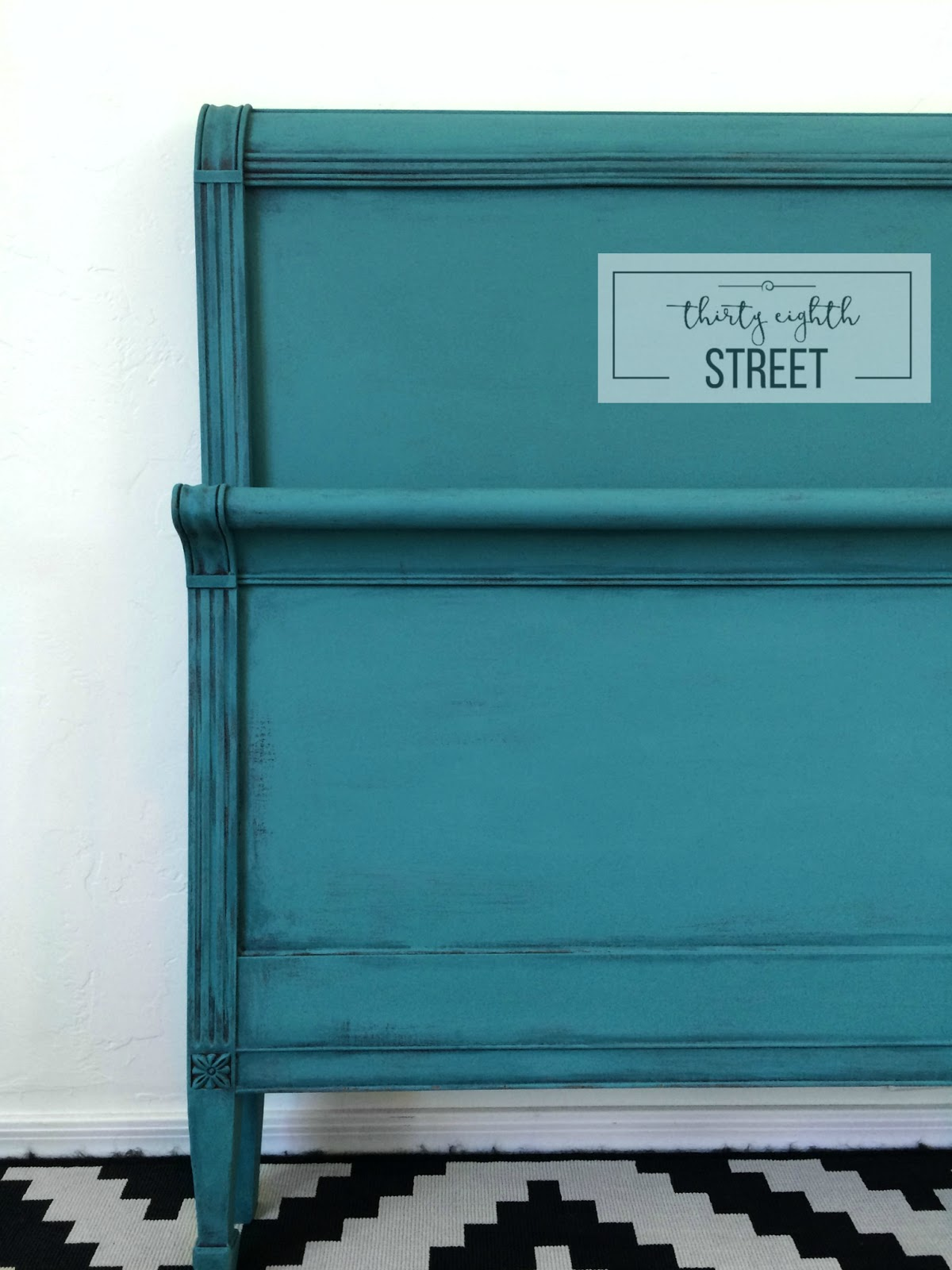 Layering Chalk Paint® On Furniture - Thirty Eighth Street for rustic painted furniture techniques  111ane