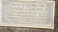 Dean G. Conklin Plumeria Grove - Koko Crater Botanical Garden, Oahu, HI