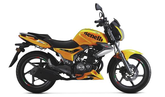 Spesifikasi Benelli TNT 15